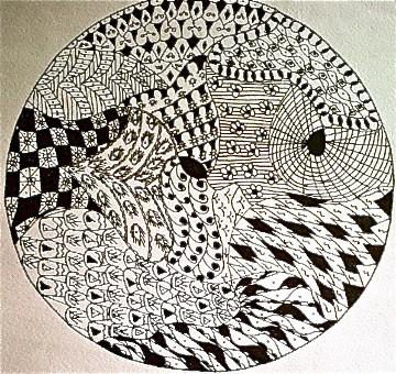 ZENDALAS: Zentangles + Mandalas