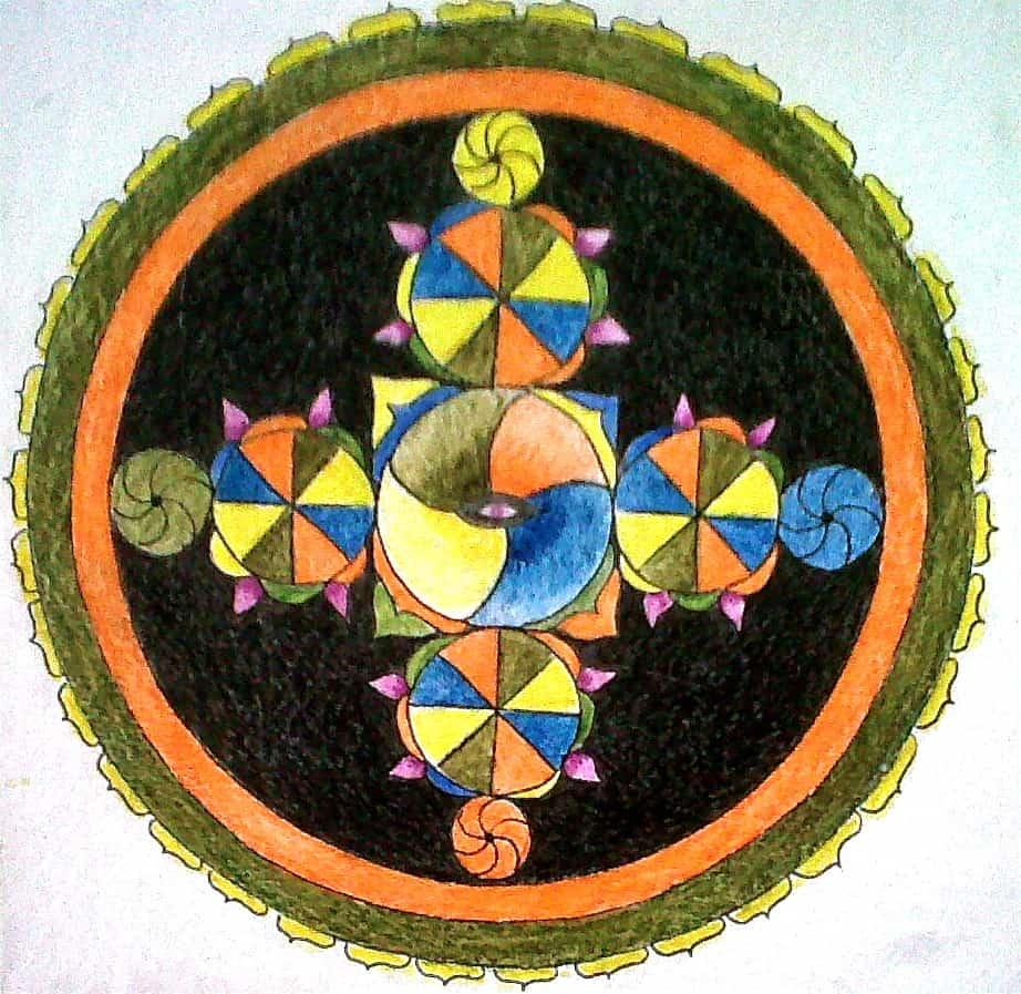Mandala: Equilibrio en movimiento