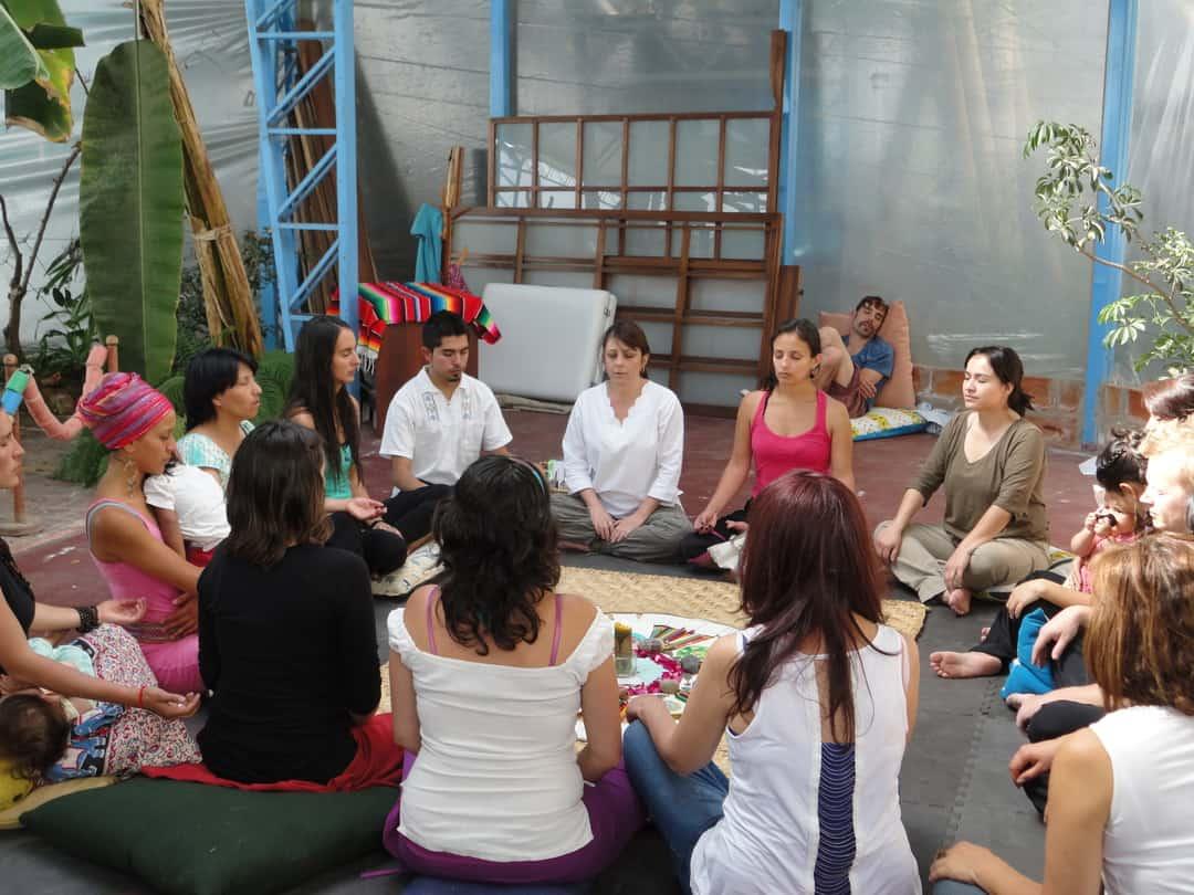 Mandala Intuitivo en Jornadas de Bienestar