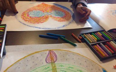Nuevo taller online: Conciliando los opuestos con mandalas
